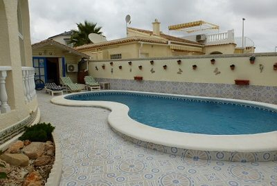 detached villa El Presidente with pool and  sea view