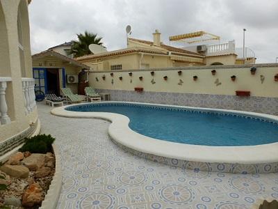 detached villa El Presidente with pool and  sea view